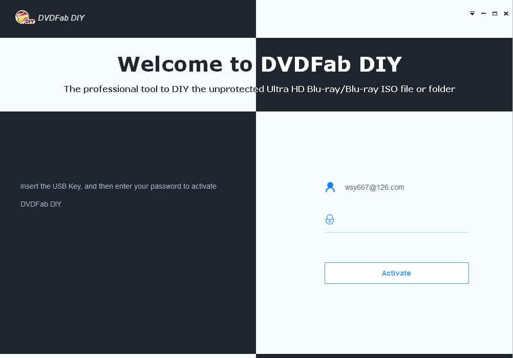 dvdfab DIY screenshot 1